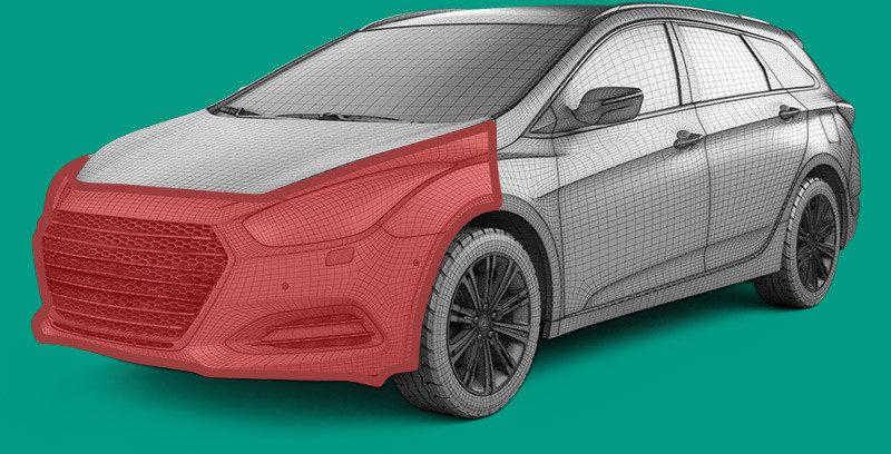 Vehicle front part
